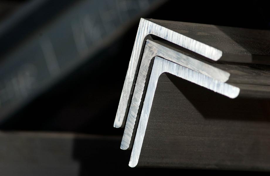 Aluminum angle  cut size metals esmw