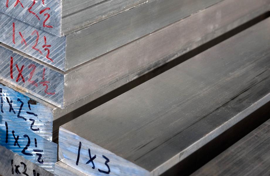 6061 T6 6061 T6511 Aluminum Rectangular Bar Cut 2 Size