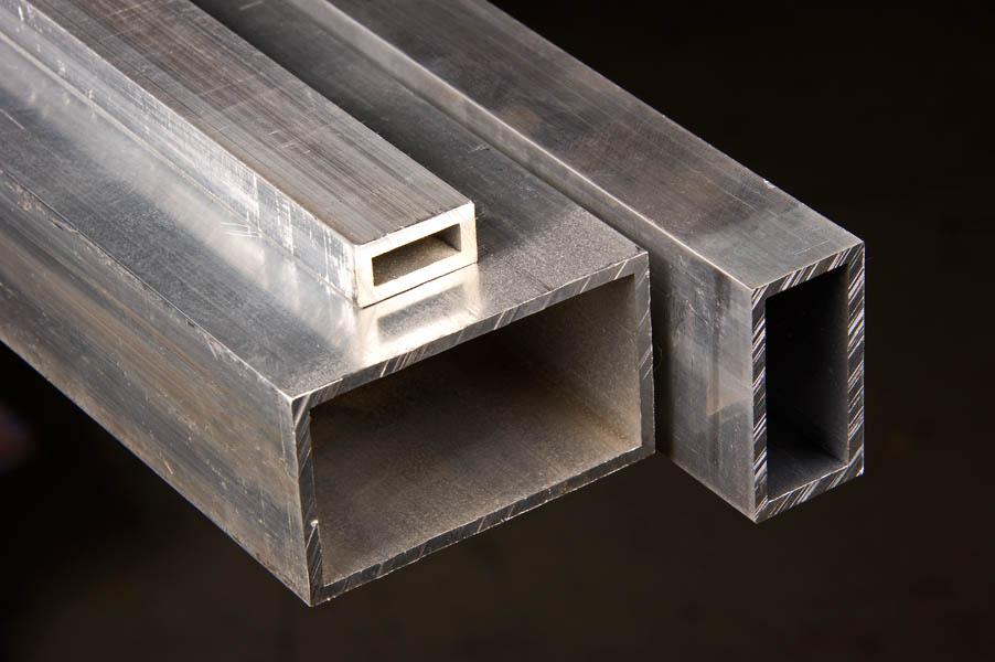 Aluminum rectangular tubing t cut size metals