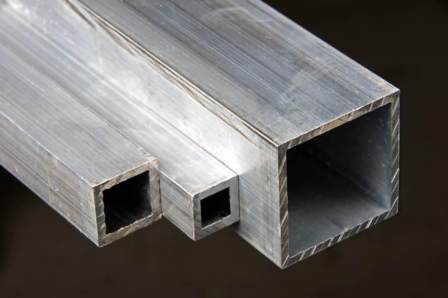 Aluminum square tubing t cut size metals esmw