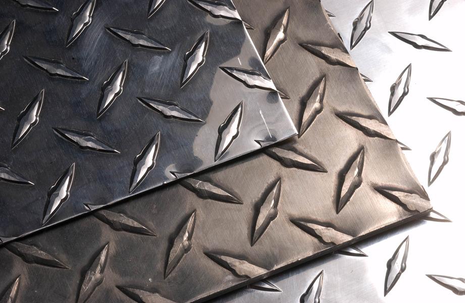 Diamond Plate Pipe : Aluminum diamond plate tread