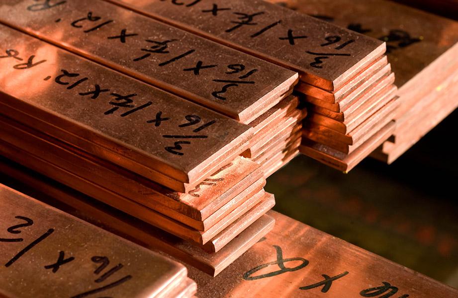 110 Copper Rectangular Bar Cut 2 Size Metals Esmw