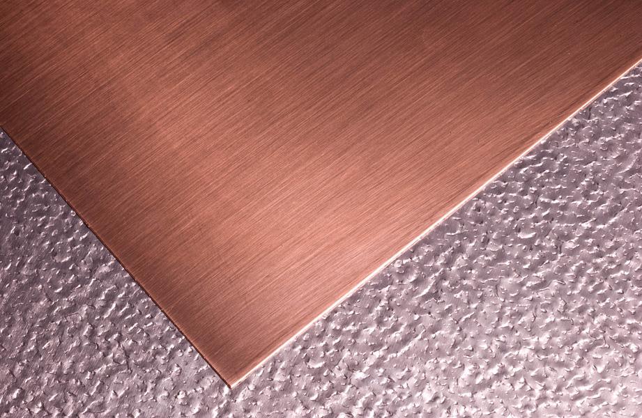 Home Depot Copper Sheet Metal : Hammering copper sheet hammered tin sheets