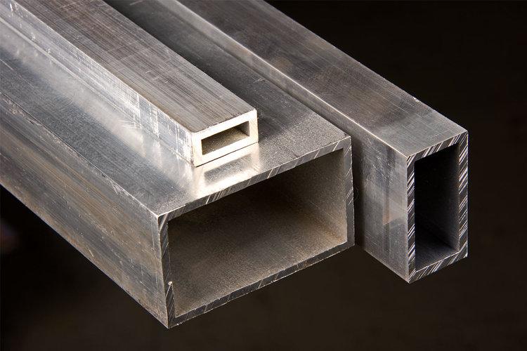 Aluminum Rectangular Tubing 6063 T5