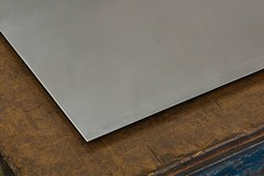 """12/"""" x 12/"""" 304 #4 Stainless Steel Sheet Metal Plate .05/"""" 18 ga gauge"""